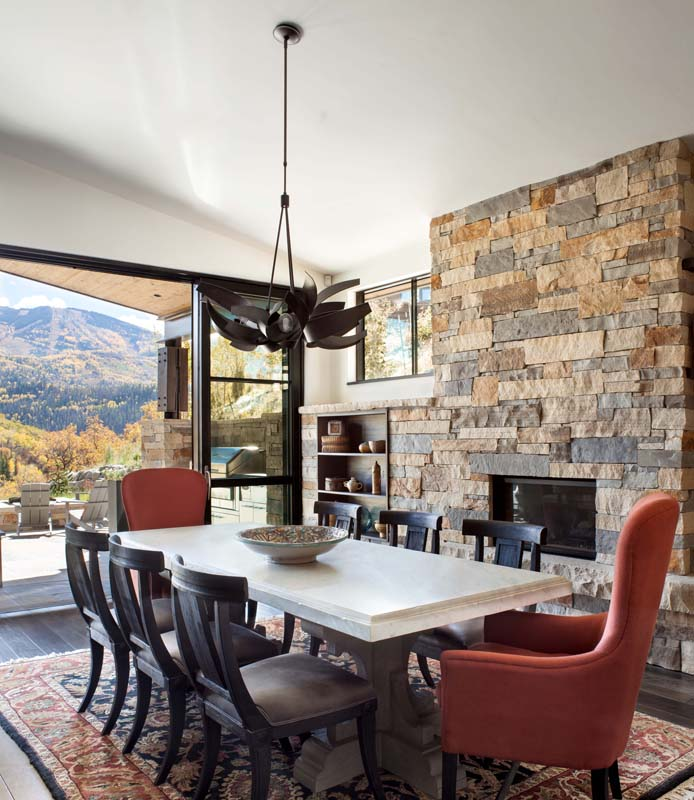 colorado dining room designed by stel house and home