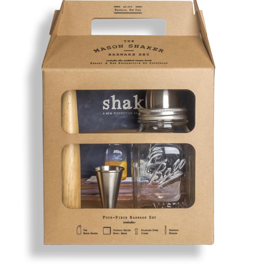 Mason Shaker Gift set