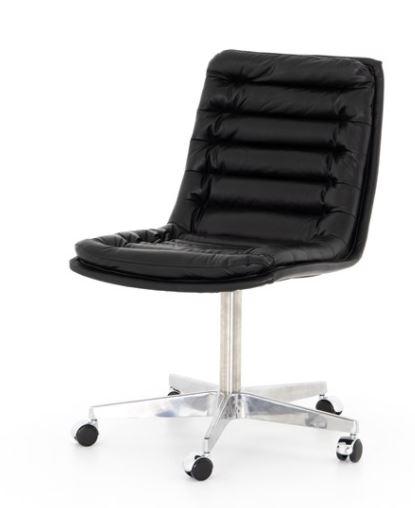 Office Chair – Malibu-Black Leather